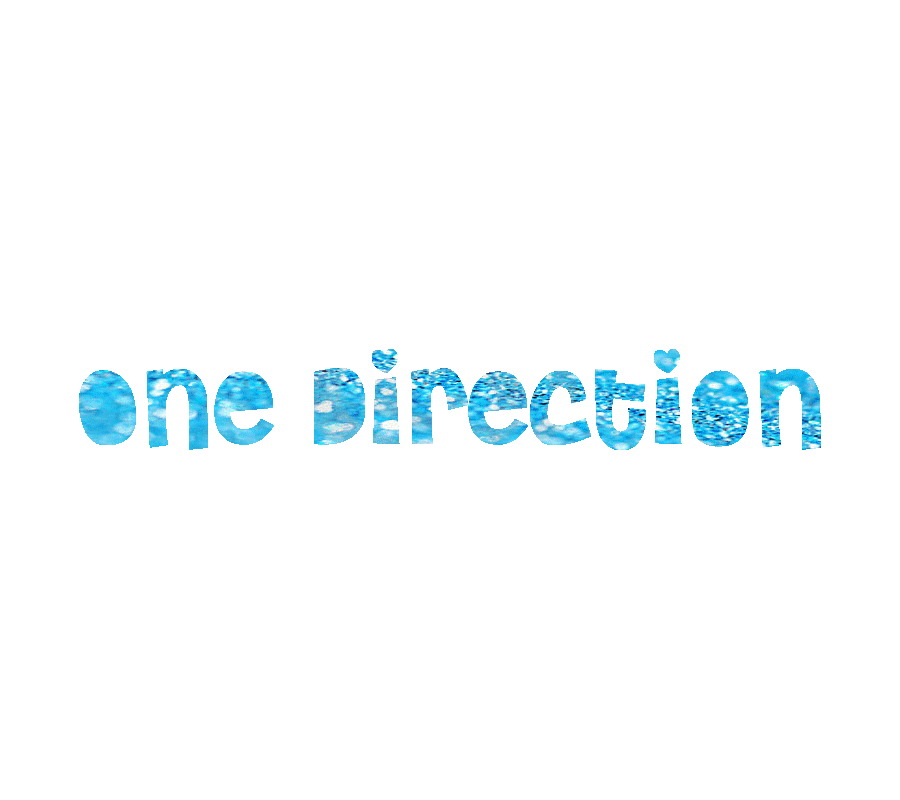 One Direction Blue Glitter Text by Arin1d18 on DeviantArt
