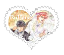 RuHana Heart Stamp2 _wedding by HanaUkeLove