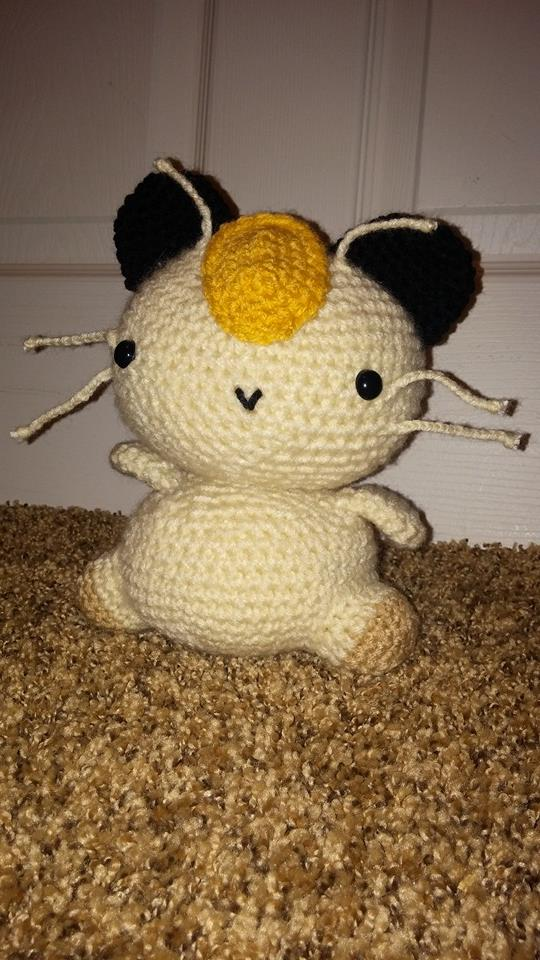 Meowth front FOR SALE by SergicalCevi