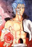 Grimmjow:Dont Mess w' my Cero by firewolf826