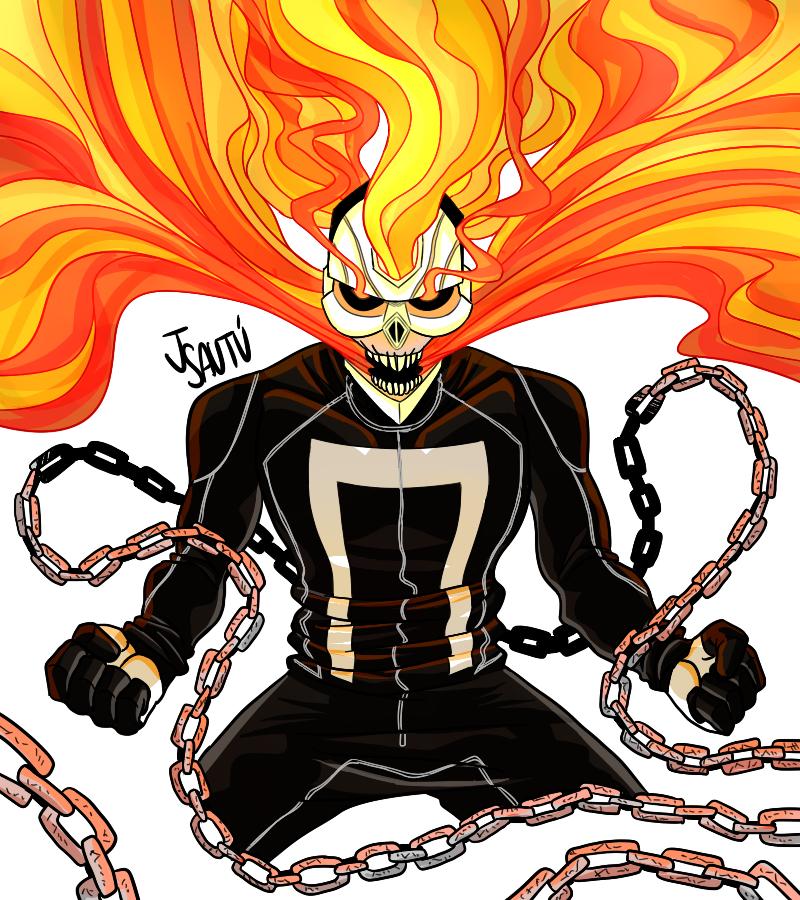 All New Ghost Rider By JSautu On DeviantArt