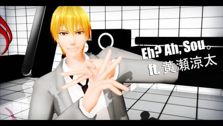 Eh? Ah, Sou. ft. Kise Ryouta by kinoko-hiou