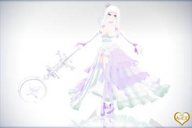 MMD - The White Queen by kinoko-hiou
