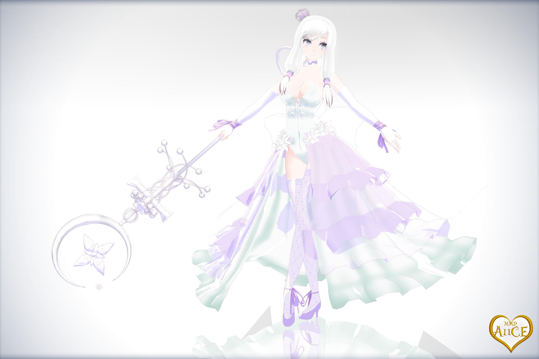 mmd the white queen by kinokohiou on deviantart