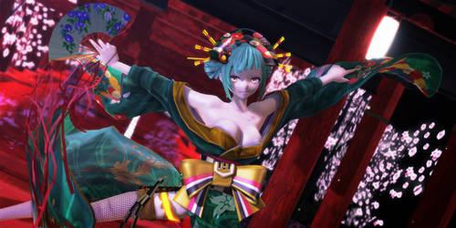 MMD Midori by kinoko-hiou