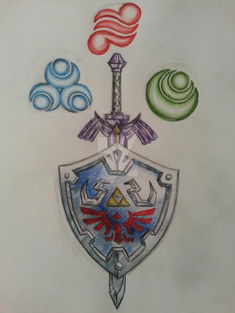 Legend of Zelda tattoo by dragonkitteh on DeviantArt