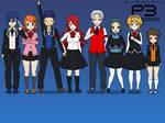 Persona 3 Characters in kisekae