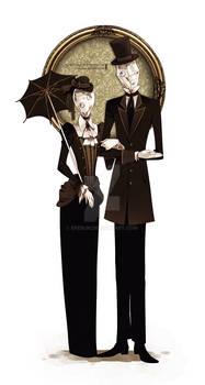 Mr. and Mrs. Glaseye