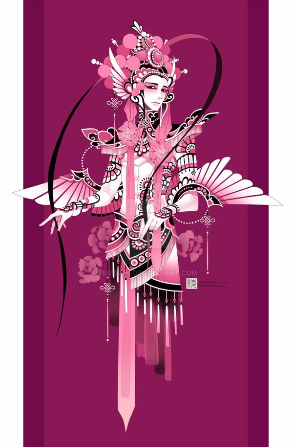 flamingo by erebun