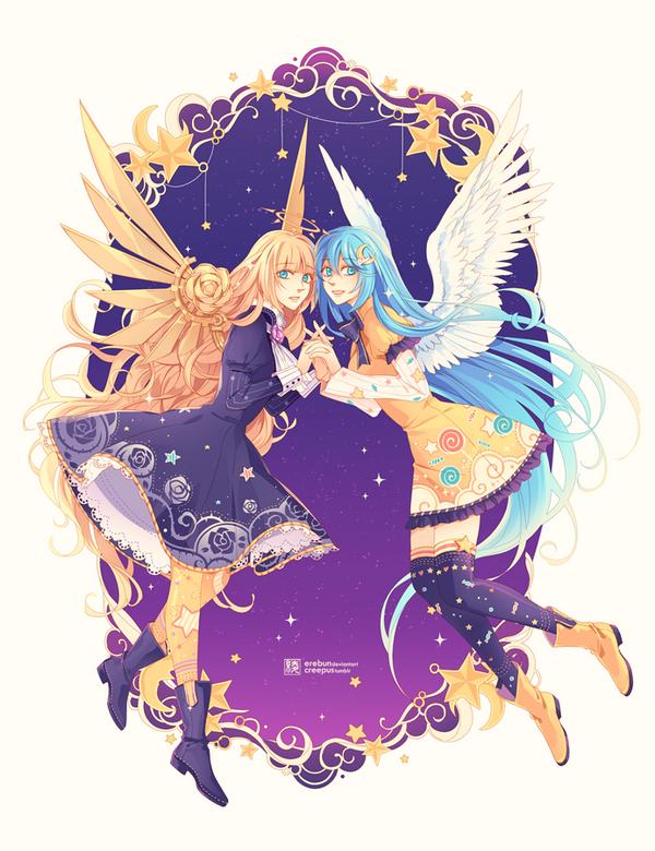 luna . aste by erebun