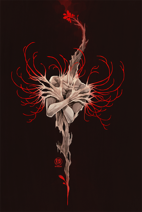 spider lily by erebun on DeviantArt