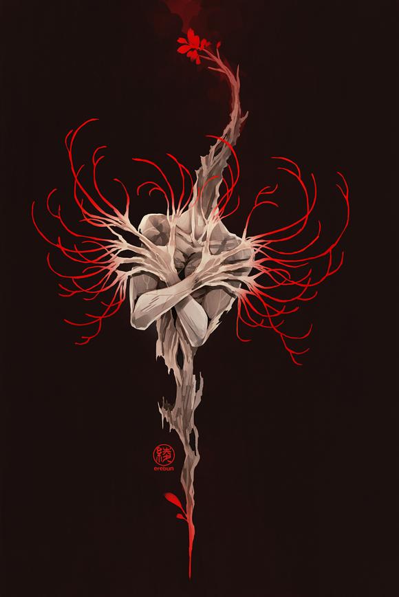 spider lily by erebun ...
