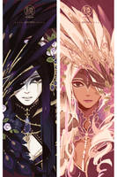 Threads artbook preview - Corvus by erebun