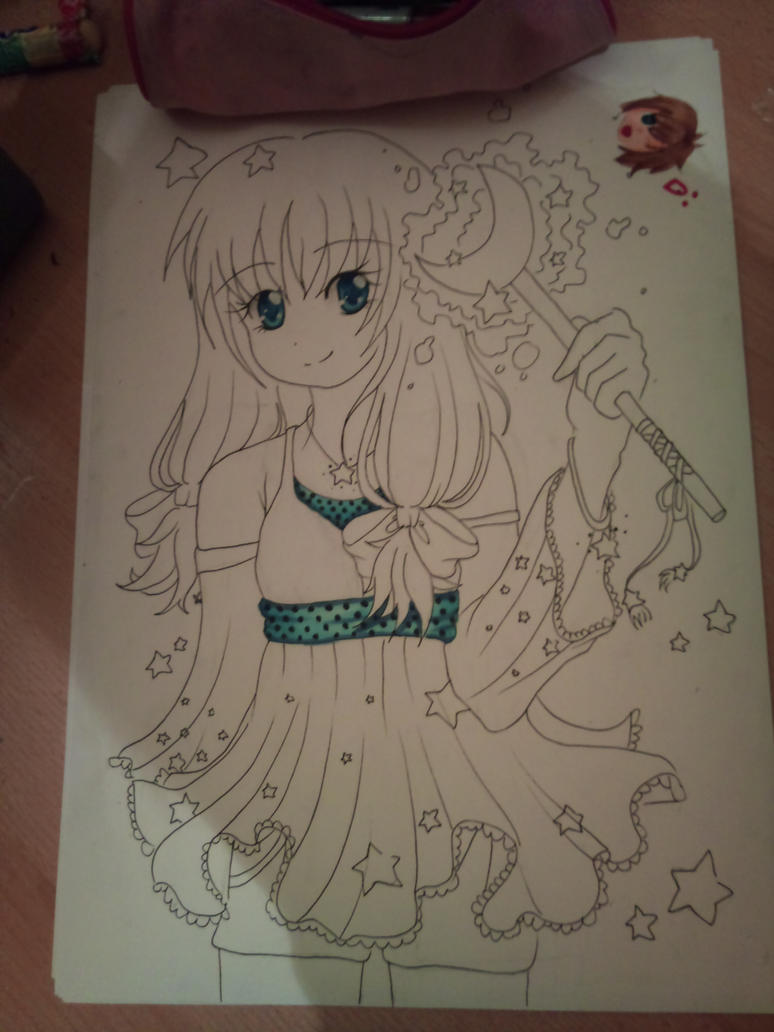 Copic Marker Practice Coloring Pages