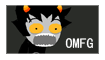 Karkat stamp by NaruLeiin