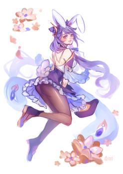 Keqing Bunny
