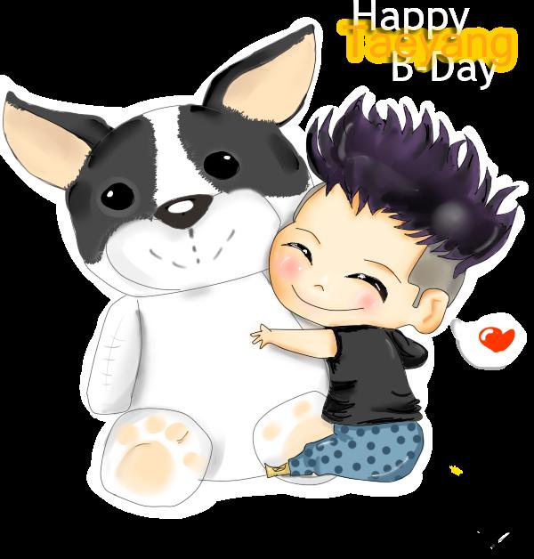 Happy B-Day Tae by akyTOPia