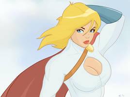 Power Girl by Mro16