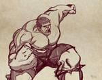 Hulk Sketch