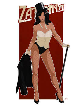 Zatanna Pin up Commission