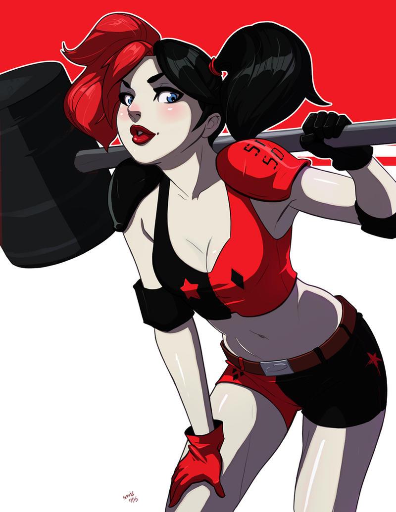 Harley Quinn By Mro16 On DeviantArt