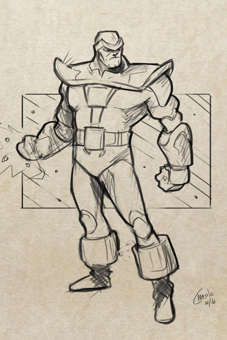 Thanos Sketch by Mro16 on DeviantArt