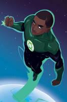 Green Lantern (John Stewart) by Mro16