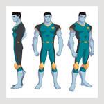 Character Design - TimeLost Comics