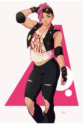 OC Commission, Stage Dive