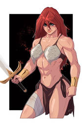 Red Sonja Pin Up