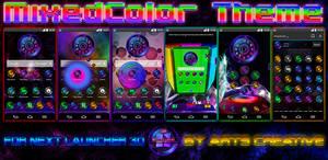 NEXT LAUNCHER 3D THEME MixedColor 2Dn3D