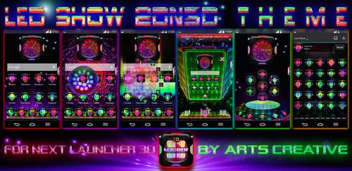 Next Launcher 3D Theme Led Show v1.6 by ArtsCreativeGroup