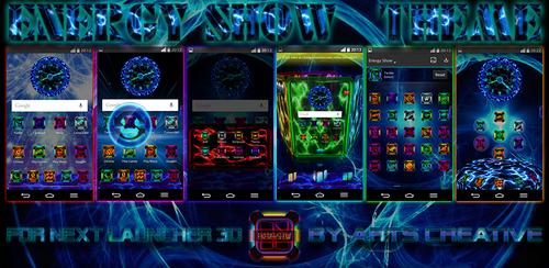 UPDATE!!! NEXT LAUNCHER 3D THEME EnergyShow by ArtsCreativeGroup