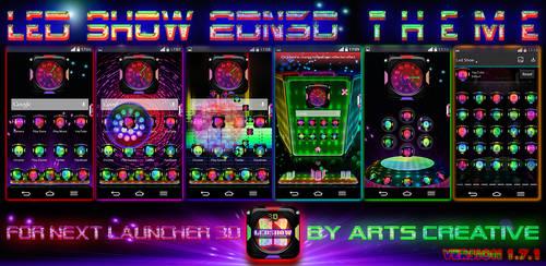 Next Launcher 3D Theme LedShow v1.7.1 by ArtsCreativeGroup