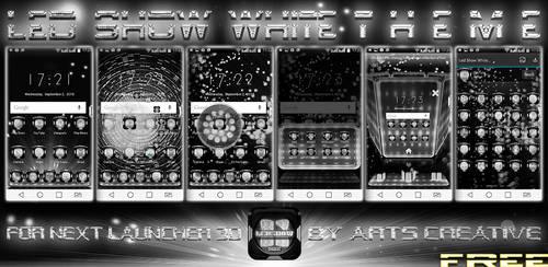 Free! Next Launcher 3D Led Show White by ArtsCreativeGroup