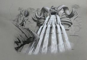Mayan Waterfall Idol