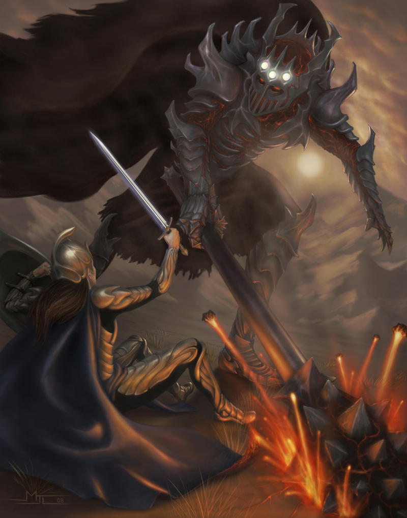 Fingolfin Vs Morgoth By Mattleese87 On Deviantart