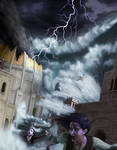 Drowning of Numenor by mattleese87