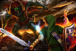 Battle for the Triforce III by mattleese87