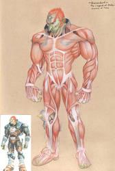 Ganondorf Muscle Study by mattleese87