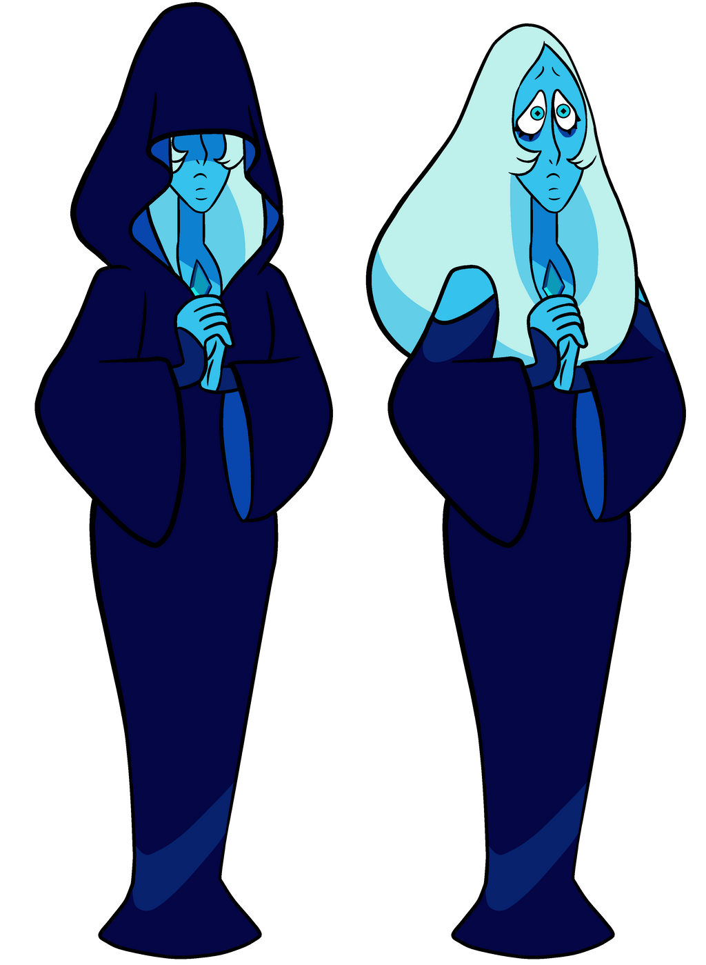 STEVEN BOMB 5 SPOILERS] Blue Diamond Vectors by DaviDark-TheGunter ...