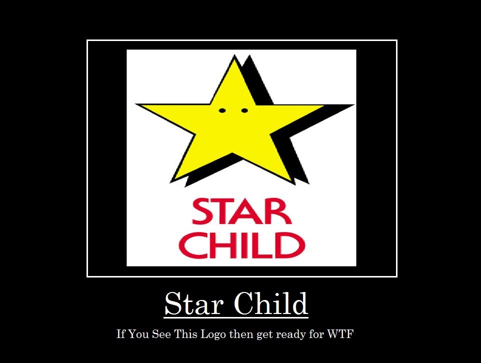 Star Child de-motivational poster