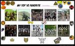 Top 10 PR Foot Soldiers