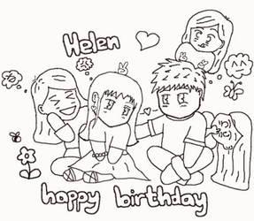 Happy Birthday, Helen
