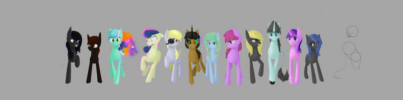 The Chase - Banner (SO. MANY. PONES.) by g-haze