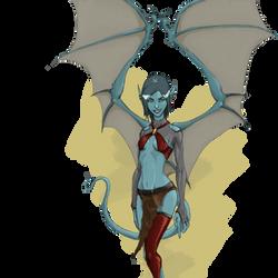 Not a Demon! by Mendigoman