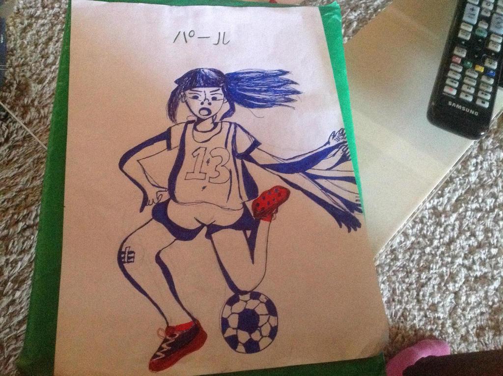 Sports - INKTOBER DAY 5 by Paru-chinBaka