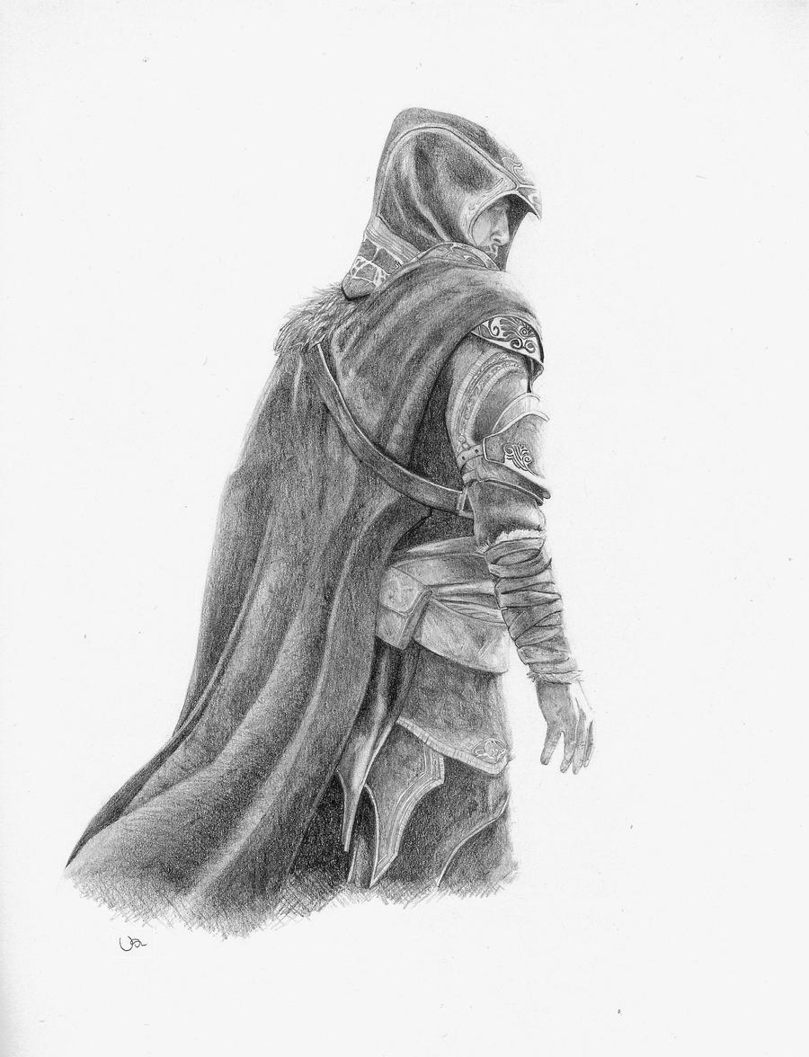 My name is Ezio Auditore by Vadu20
