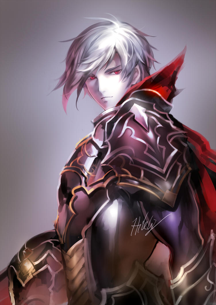Anime shadow knight