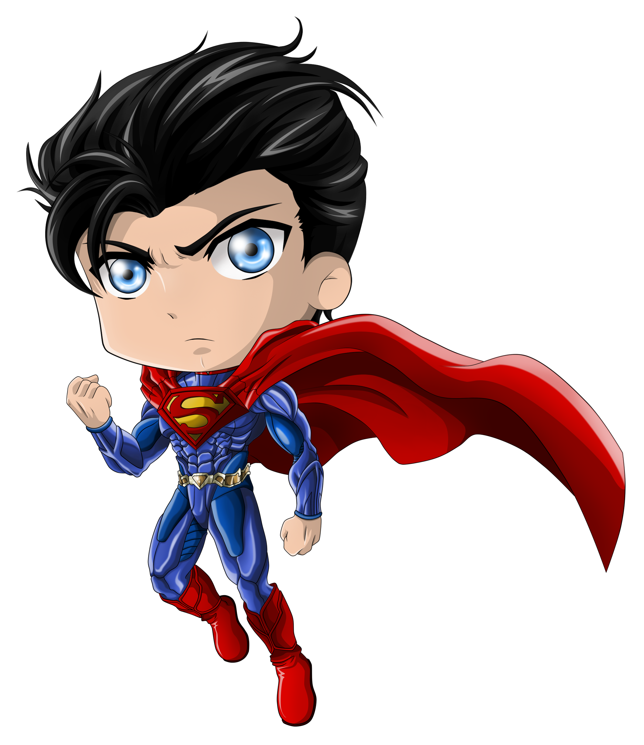 cute superman flying drawing - photo #36